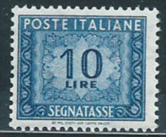 Italia 1955 Nuovo** - Segnatasse Stelle £ 10 St.1 - 6. 1946-.. Repubblica
