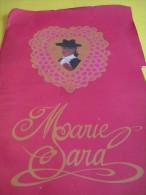 Marie SARA/Corrida/Ligne De Vêtements/ Christian Audigier/Plaquette  Publicitaire/1991   MOD30 - Habits & Linge D'époque