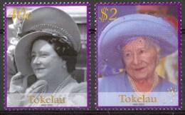 2002 Tokelau 100° Regina Madre Elizabet Set MNH** Te202D275 - Tokelau