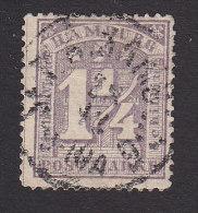 Hamburg, Scott #22, Used, Number, Issued 1864 - Hamburg