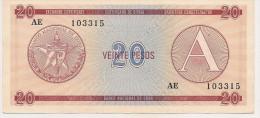 CUBA  20 PESOS
