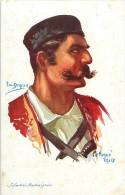 Réf : M-14-3652 : Carte Illustrée Par Em Dupuis  Soldat D´infanterie Montenegro - Montenegro