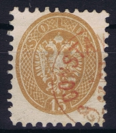 Austria Lombardo Veneto 1864 Nr 23 Used Rot Entwertung Ferchenbauer Cat Value € 1000 - Lombardije-Venetië