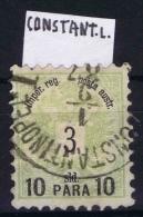 Österreich: Levant, Mi Nr 14 II B A Used   CONSTANTINOPLE  Perfo 9,5 - Levante-Marken