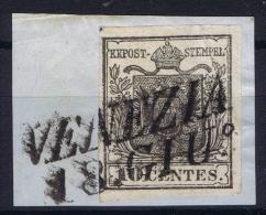 Österreich Lombardo Veneto: Sa Nr 2 Used Signed/ Signé/signiert/ Approvato - Lombardo-Venetien