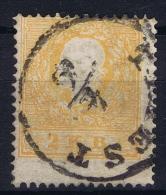 Österreich  Nr 10 I Lombardei - Venetien Triest Cancel Signed/ Signé/signiert/ Approvato , Ferchenbauer Cat Val € - 1850-1918 Imperium