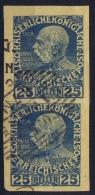 Österreich  Nr 147  Imperforated In Set Of 2 - Gebraucht