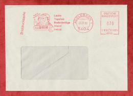 Briefdrucksache, Francotyp-Postalia B81-1374, Farben Bank, 70 Pfg, Adelebsen 1988 (60322) - Covers & Documents