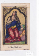 SANTIN0 SANTA MADDALENA   INCISIONE ACQUARELLATA      CM12,2X7,5       -2-  0882-21736 - Images Religieuses
