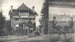 64 - Foyer De La Jeune Fille à PAU 10, Avenue Mont Et Vue Du Foyer Sur Les Montagnes. Animée, Peu Courante. - Pau