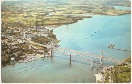 GB - Co - Tamar Bridge - Photo Precision L / Colourmaster International N° PT1436 (circ. 1974) - [Saltash - River Tamar] - Other
