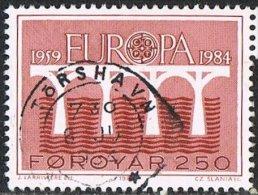Faroe Islands SG94 1984 Europa 250ö Good/fine Used - Faroe Islands