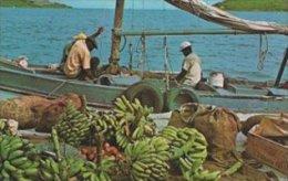 Native Sloops With Fruits.  Virgin Islands.    S-1427 - Virgin Islands, British