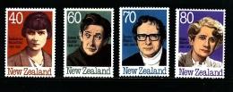 NEW ZEALAND - 1989  AUTHORS  SET  MINT NH - Nuova Zelanda