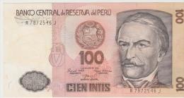 PEROU 100 Intis 1985 P132a UNC - Pérou