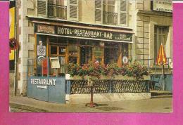 """BLOIS   -   ** HOTEL RESTAURANT BAR """" AU SINGE VERT """" De C. FLAGEZ **  -  Edit : J.P. GUIGNARD De BEAUGENCY  N°41.018.10 - Blois"""
