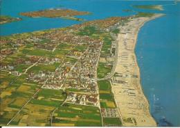 CPM Italie, Italia, Sottomarina - Veduta Aerea Vue Aérienne Aerial View Luftansicht  - Plage, Spiaggia, Beach - Italia