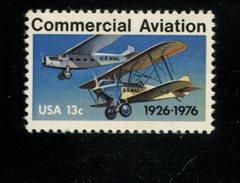 200600730 USA 1976 POSTFRIS MINT NEVER HINGED POSTFRISCH EINWANDFREI SCOTT 1684 COMMERCIAL AVIATION - Unused Stamps