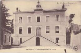 CPA - BRIOUDE (43) - L'école Supérieure De Filles - 1915 - Brioude
