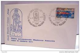 ASIAGO  FOZA FESTA MADONNA ASSUNTA 15  AGOSTO 1971 SERVIZI DISTACCATI - QUALITA´ LUSSO - 6. 1946-.. República