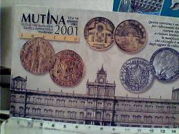 MUTINA 2001  MODENA 2001 MONETE    N2001 EM9099 - Monete (rappresentazioni)