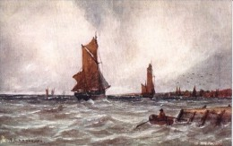 W. Cannon  -  Coasting Vessels In The Medway     -     9053 - Tuck, Raphael