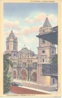 LA CATEDRAL CIUDAD PANAMA THE CATHEDRAL PANAMA CITY CPA J. L. MADURO JR. CPA DOS DIVISE UNCIRCULATED CIRCA 1925 - Panama