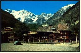 Macugnaga  -  La Parete Orientale Del M. Rosa Vista Da Pecetto  -  Ansichtskarte Ca.1980   (3620) - Verbania