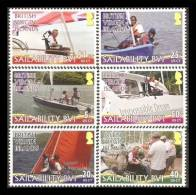 British Virgin Islands 2011 - Bateaux Voiliers De Loisir - 6v Neufs // Mnh - British Virgin Islands