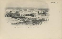 Djibouti   Terrasses Du Quartier Arabe - Gibuti