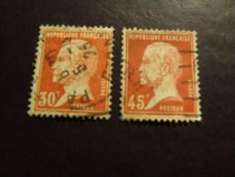 FRANCIA 1923 PASTEUR 30-45 C USATO - France