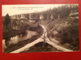 24 Dordogne Route De BOURDEILLES à BRANTOME Les Grands Rochers - France