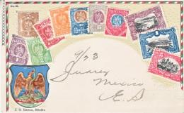 MEXICO  POST  CARD  1907   (o) - Mexico