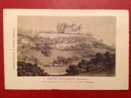 24 Dordogne Chateau D'HAUTEFORT (HAUTEFORD ?) Vue Générale Du Coté  De La Route D'AZERAT - France