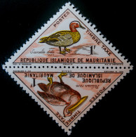 TIMBRES-TAXE - PELICAN ET SARCELLE 1963 - NEUFS ** - YT 36/37 - MI 28/29 - PAIRE TETE-BECHE - Mauritanie (1960-...)
