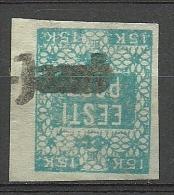 ESTLAND ESTONIA Estonie 1918 Provisional Line Cancel SUURE-JAANI On Michel 2 - Estonia