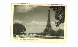 Paris   Tour Eiffel Et Seine - Eiffelturm