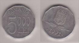 Rumänien , 5000 Lei , 2002 ( G.Schön 172 / 2 ) - Rumänien