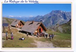 Refuge De Valette (pralognan) Massif De La Vanoise En Tarentaise N°73/2546 Edy - Photo Guathier - Other Municipalities