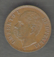 ITALIA 1 CENTESIMO 1896 UMBERTO I - 1861-1946 : Regno