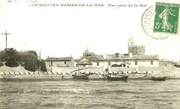 Saintes Maries De La Mer. Vue Prise De La Mer. - Saintes Maries De La Mer