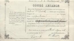 Location/Congé Amiable / 92 Rue De La Condamine/Paris / 1903    AEC5 - Non Classés