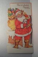 BON ET JOYEUX  NOEL   -- (-FANTAISIE --DECOUPI- ) - Santa Claus