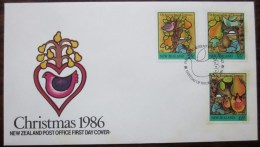 FDC00681 - New Zealand - 1986 - Sc. 854-856 - FDC