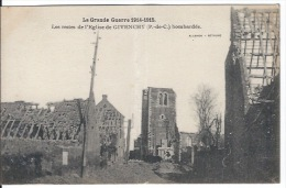 CPA Guerre 1914 1918  62 Givenchy - Guerra 1914-18