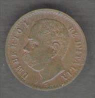 ITALIA 1 CENTESIMO 1900 UMBERTO I - 1861-1946 : Regno