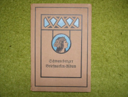 A2894) Schönes Altes Schwaneberger Sammelalbum Um 1927 - Alben Leer