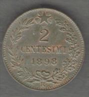 ITALIA 2 CENTESIMi 1898 UMBERTO I - 1861-1946 : Regno