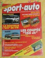 SPORT AUTO. N°291. AVRIL 1986. FIAT UNO. MAZDA RX 7. PORSCHE 924 S. TOYOTA CELICA. - Sport