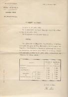 Arrété Des Traitements Des  Brigadiers, Sous-Brigadiers Et Gardiens De La Paix/Préfecture De Police/Paris  /1892   AEC11 - Non Classés